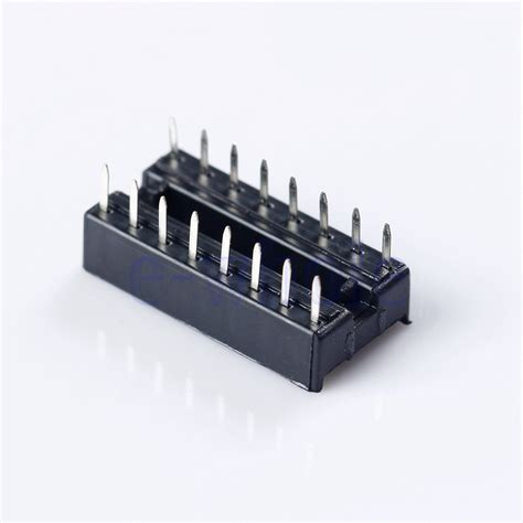 what is an integrated circuit socket 10x 16 pin dip 16 ic socket for integrated circuit chip operational lifier tw ebay