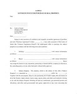 Letter Of Intent For A Sle by Sle Letter Of Intent 43 Exles In Pdf Word