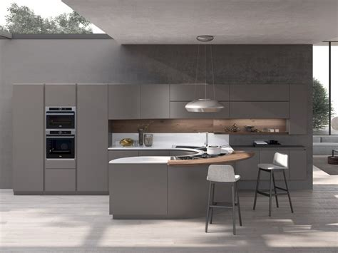 pedini cucine artika kitchen with peninsula by pedini