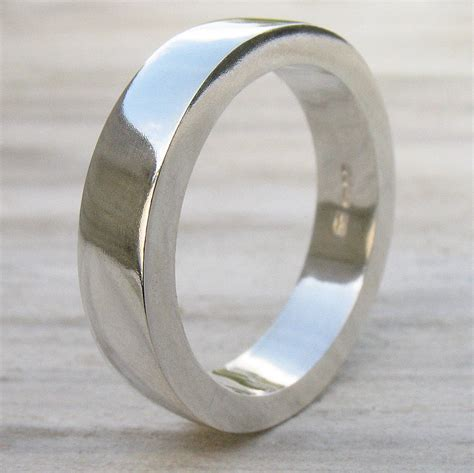 handmade chunky s silver ring by lilia nash jewellery