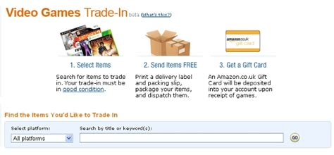 amazon xbox one trade in amazon now offer a trade in service for your old games