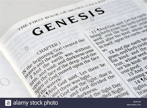 book of genesis bible stock photo 28157054 alamy