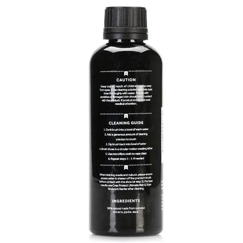 crep protect refill cleaning lotion 200ml sneaker kicks