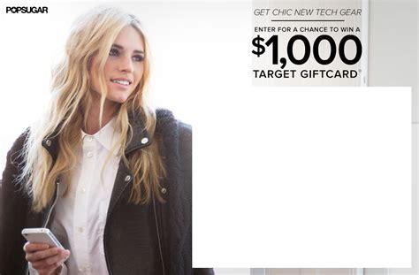 Win 1000 Target Gift Card 2015 - win 1 000 to target popsugar tech