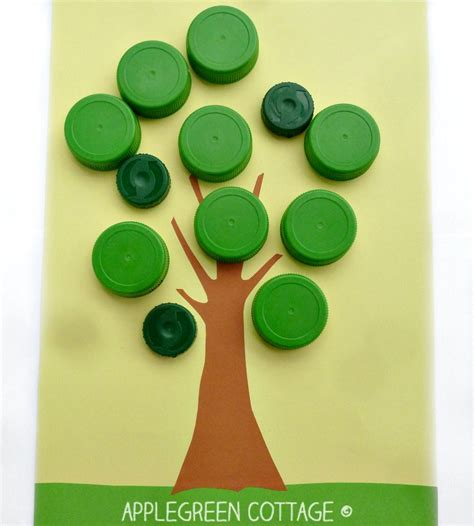 top crafts bottle cap apple search family crafts