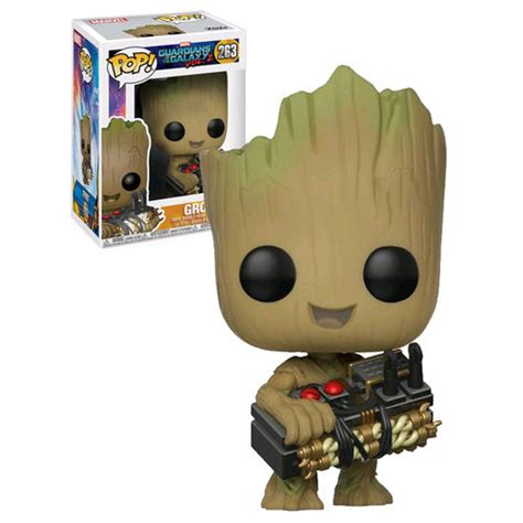 Funko Pop Groot Guardians Of The Galaxy funko pop marvel guardians of the galaxy vol 2 263 groot with bomb new mint condition