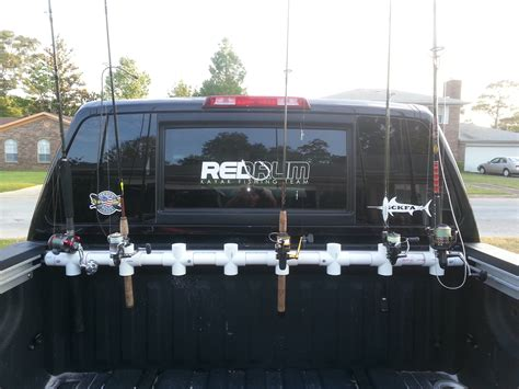 fishing rod holder for truck bed custom truck bed rod holder yangler