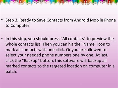 how to transfer contacts from android to computer how to transfer contacts from android to computer windows and mac