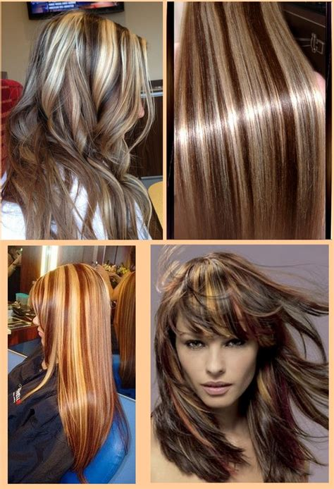 hairstyles blonde and brown streaks brown hair with blonde highlights lowlights for summer