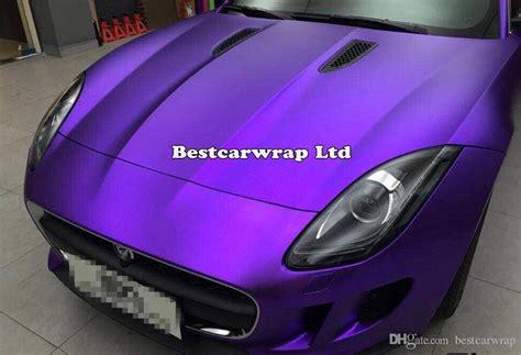 Folie Violett Matt by 2018 Purple Satin Chrome Car Wrap Vinyl With Air Release