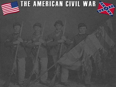 The American Civil War Powerpoint Template 2 Adobe Education Exchange Civil War Powerpoint Template