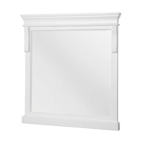 foremost naples medicine cabinet foremost naples 24 in w x 32 in h single framed wall mirror in white home home depot and naples