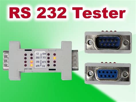 test port test serial port cable rs232 rs 232 loopback loop back
