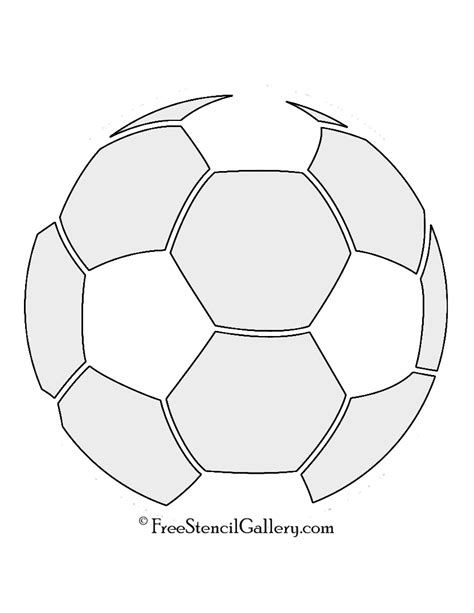Soccer Ball Template Www Pixshark Com Images Galleries With A Bite Soccer Template