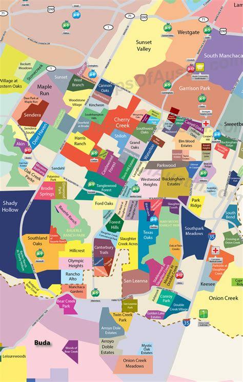 texas neighborhood map south small maps of neighborhood maps of texas