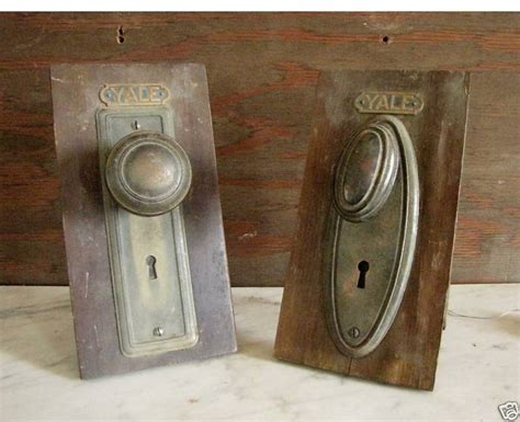 Antique Interior Door Knobs Vintage Interior Door Hardware Salesman Sles 23 24 Ebay
