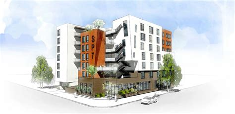 skid row housing trust srht plans 100 supportive housing units in l a s industrial district archpaper com