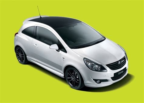 vauxhall black 2010 vauxhall corsa black and white limited edition review