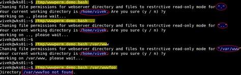 unix linux pwd shell scripting exle nixcraft