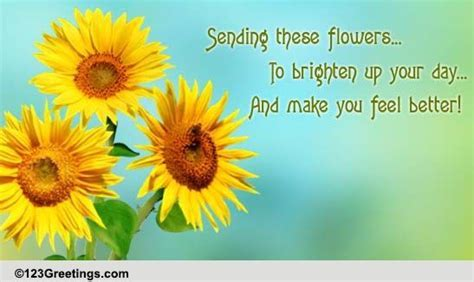 Brighten Your Day! Free Get Well Soon eCards, Greeting
