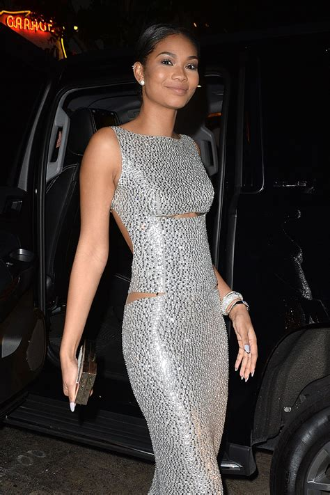 chanel iman chanel iman ay wma golden globes party at chateau marmont