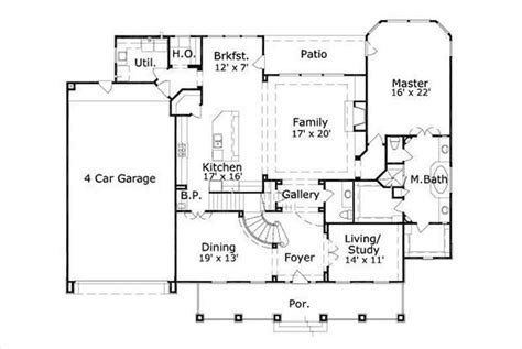 car floor plan luxury house plans 4 car garage