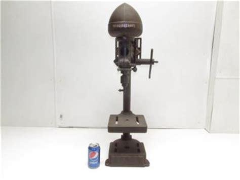 delta bench top drill press vintage delta rockwell milwaukee homecraft cast iron bench