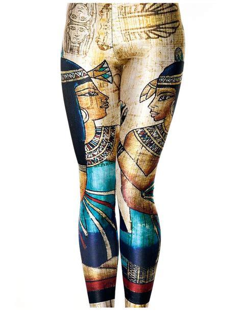 tattoo leggings fashion digital print character