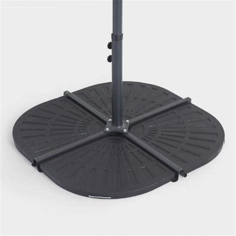 Patio Umbrella Base Weights Outdoor Cantilever Umbrella Weight Base World Market