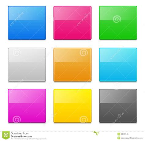 design elements square square design elements stock vector image 40147545