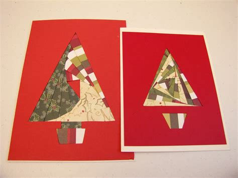 christmas tree paper folding iris paper folded tree handmade card favecrafts