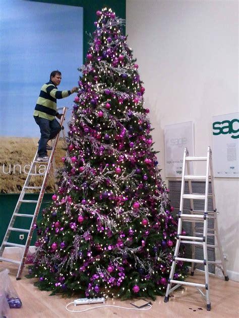 arbol navidad morado 193 rbol de navidad morado b m 193 rboles de navidad