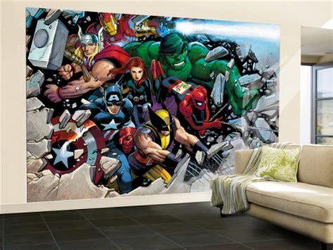 marvel comics wall mural wall murals wall murals home decor ideas 187 archive for