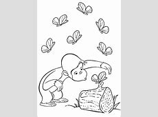 Free Curious George Coloring Pages For Kids – Technosamrat Flying Pig Drawing