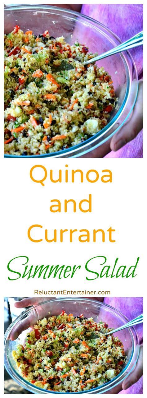 Detox Salad Recipe Currants Parsley by Quinoa And Currant Summer Salad Recipe