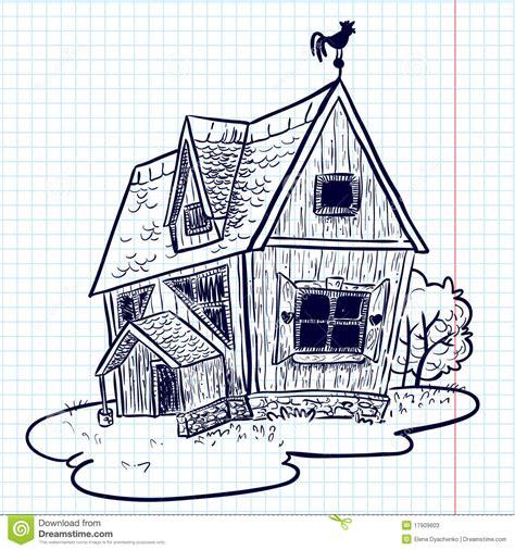 doodlebug house on doodle house stock photos image 17909603