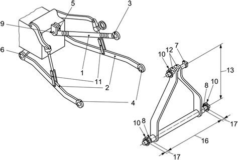 3 point hitch dimensions diagram category 2 hitch specs pictures to pin on