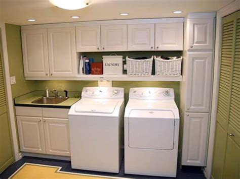 cabinets for a laundry room 10 great garage conversions decorating and design ideas