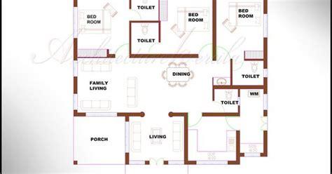 low cost house plans in kerala 6474 architecture kerala 3 bhk single floor kerala house plan