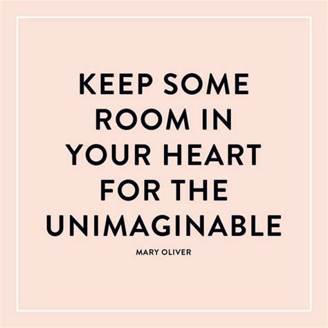 Keep Some Room In Your For The Unimaginable by Keep Some Room In Your For The Unimaginable Daily