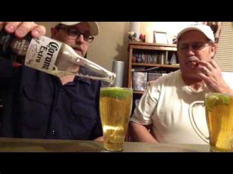 beer review guy  corona extra  salt