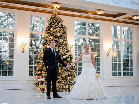festive christmas wedding ideas bridalguide