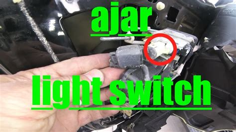 driver door ajar light switch ford