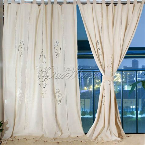 crochet curtains for sale aliexpress com buy cotton linen modern curtains for
