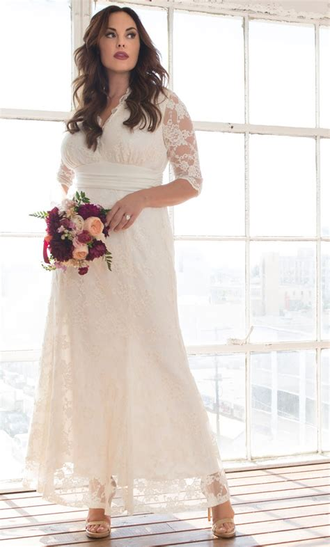 Dress Amour amour lace wedding gown lace plus size wedding dress