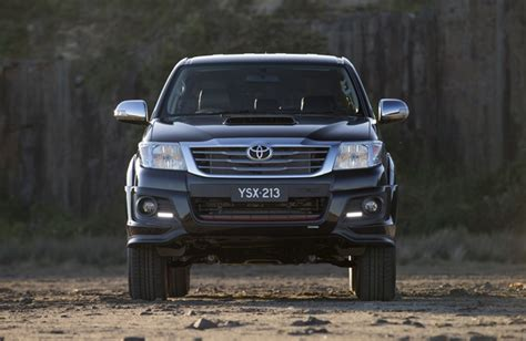 Paxtons Bar And Grill by Toyota Hilux Goes Limited Edition Black