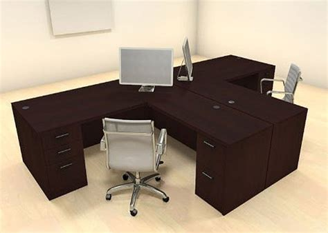 T Shaped Desk For Two People Foregather Net Desk For 2