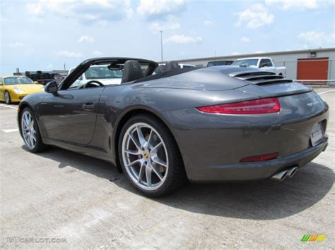 grey porsche 911 convertible 2012 agate grey metallic porsche new 911 carrera s