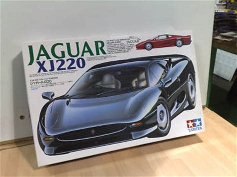 Tamiya 1 24 Jaguar Xj220 hobbiesandtoys new tamiya 24129 jaguar xj220 plastic model kit