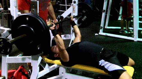 eric bench eric bench press training youtube
